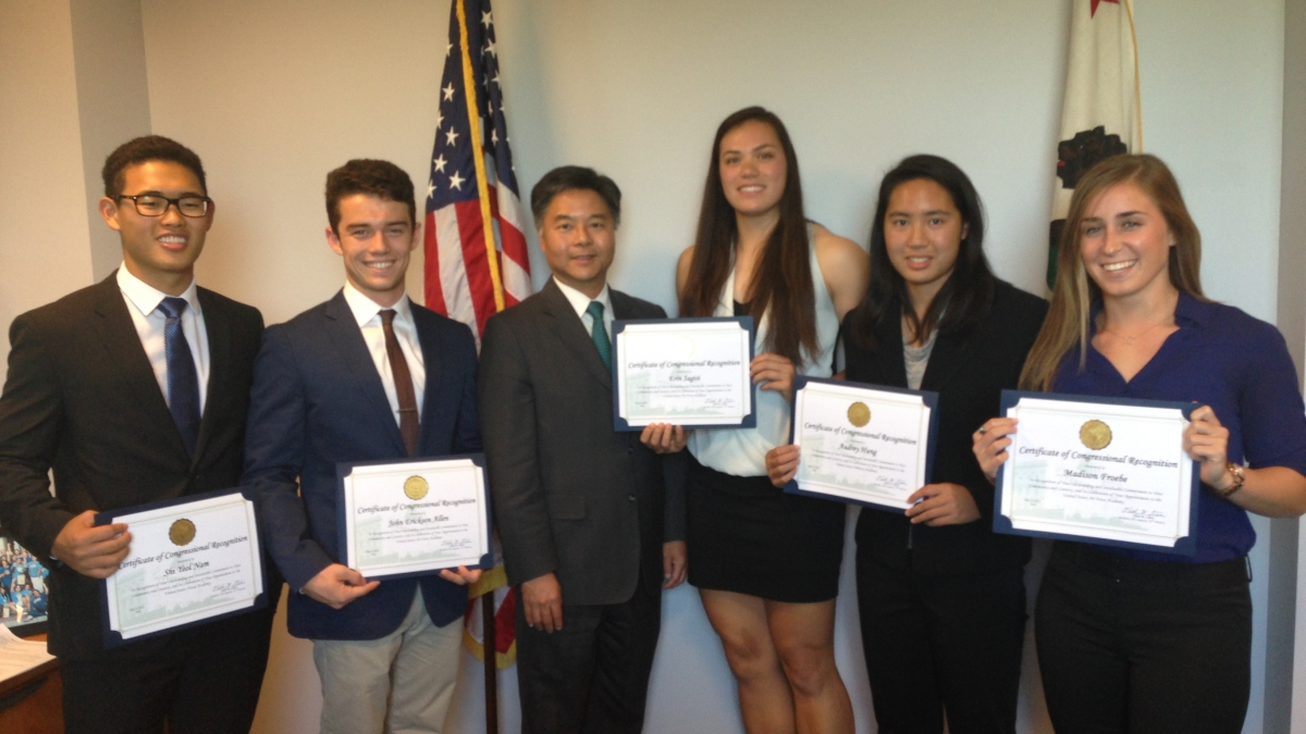 ted lieu military academy nominees