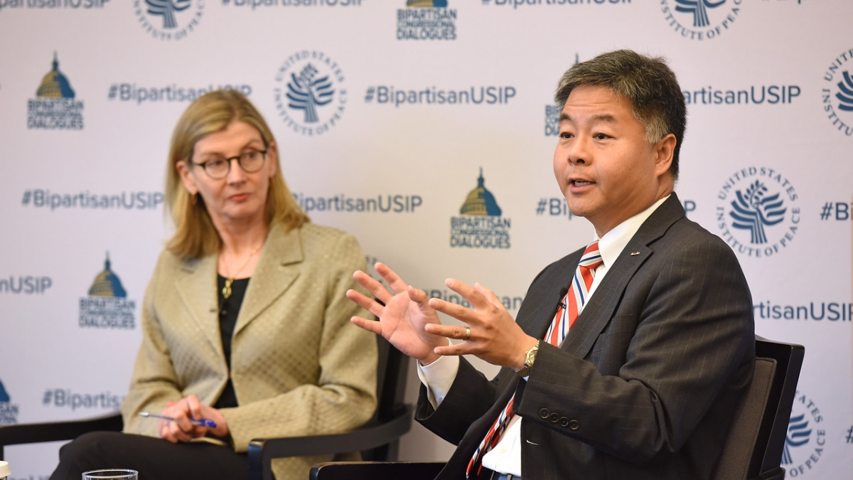 Rep Lieu at USIP